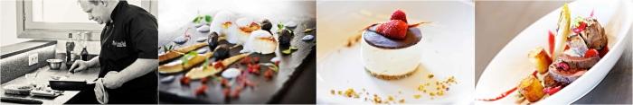 Fine dining cuisine at The Alpine Club