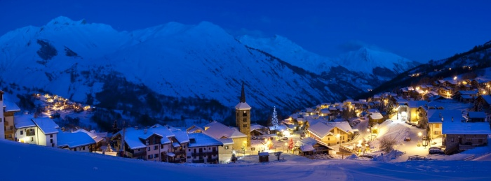 St Martin de Belleville - Picturesque Alpine Village