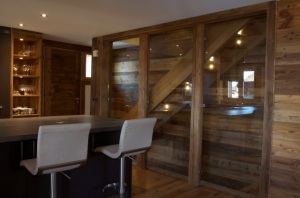 Refurbishment of an existing chalet