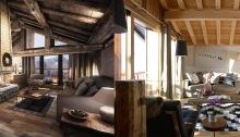 the alpine club, luxury chalets