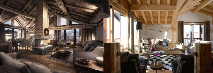 the alpine club, luxury chalets