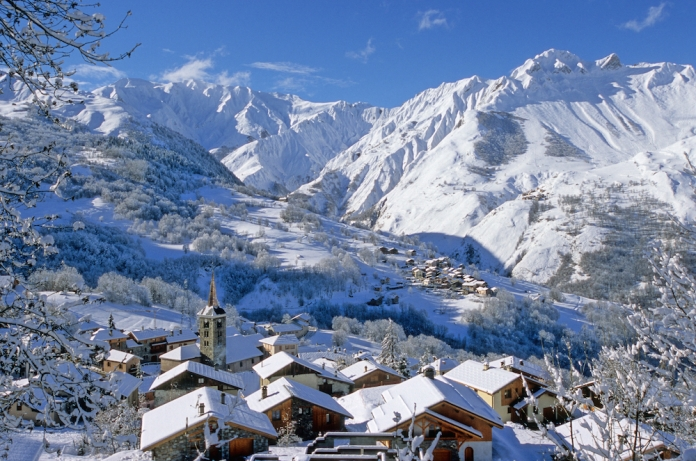 The picturesque village of St Martin